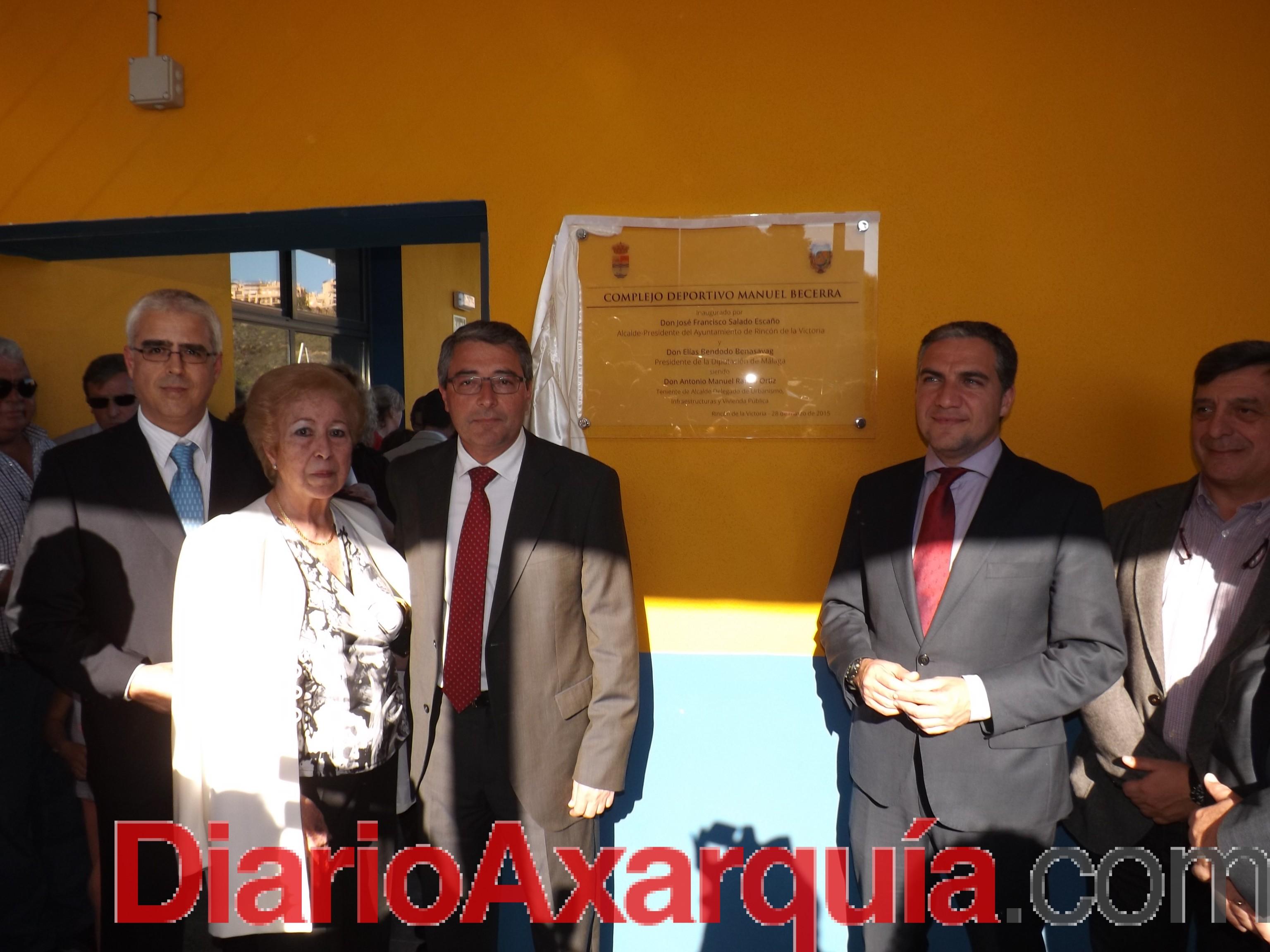 El Complejo Deportivo Manuel Becerra en Rincón de la Victoria…