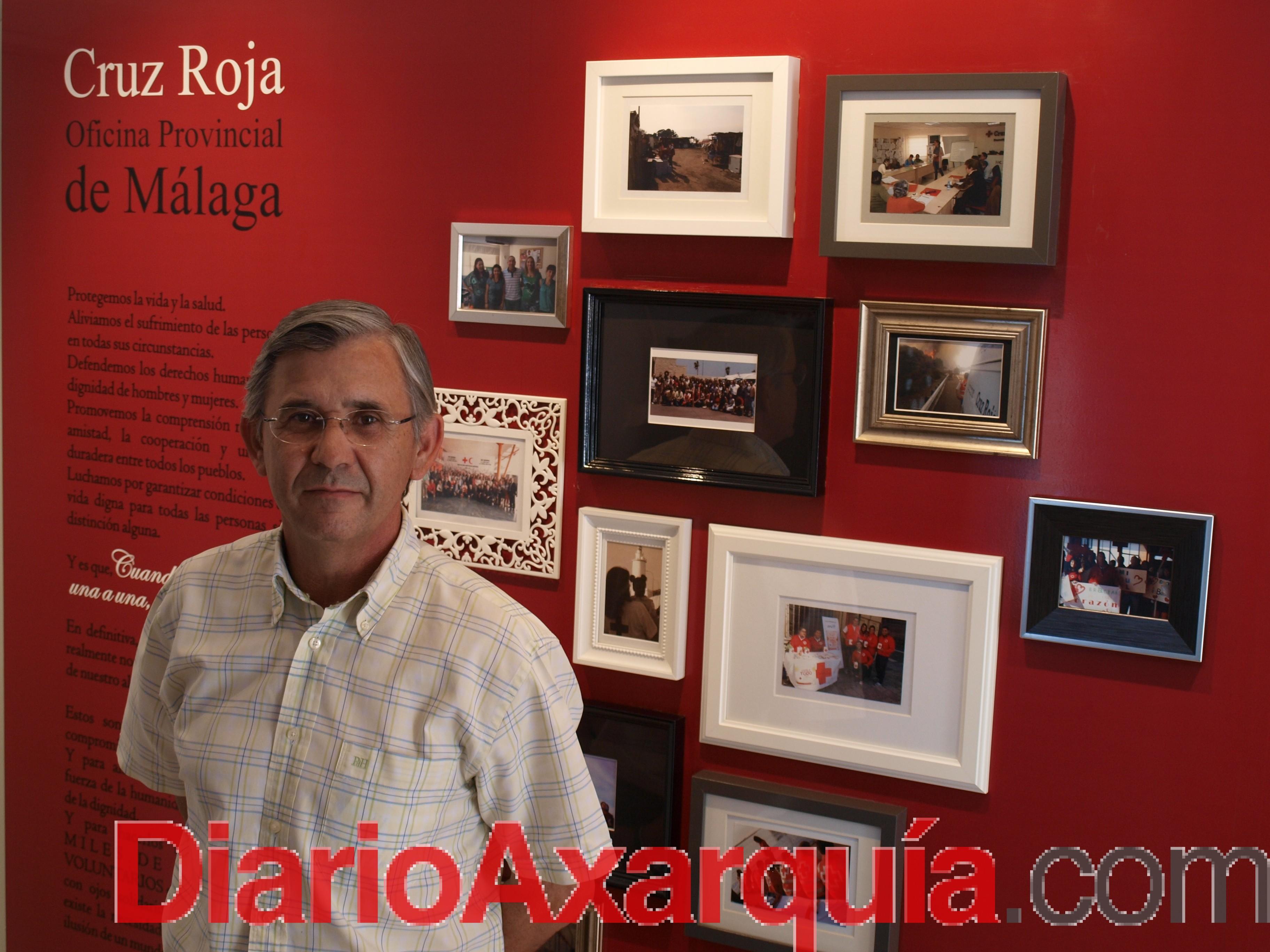 Luis Utrilla Navarro, nuevo presidente provincial de Cruz Roja en Málaga