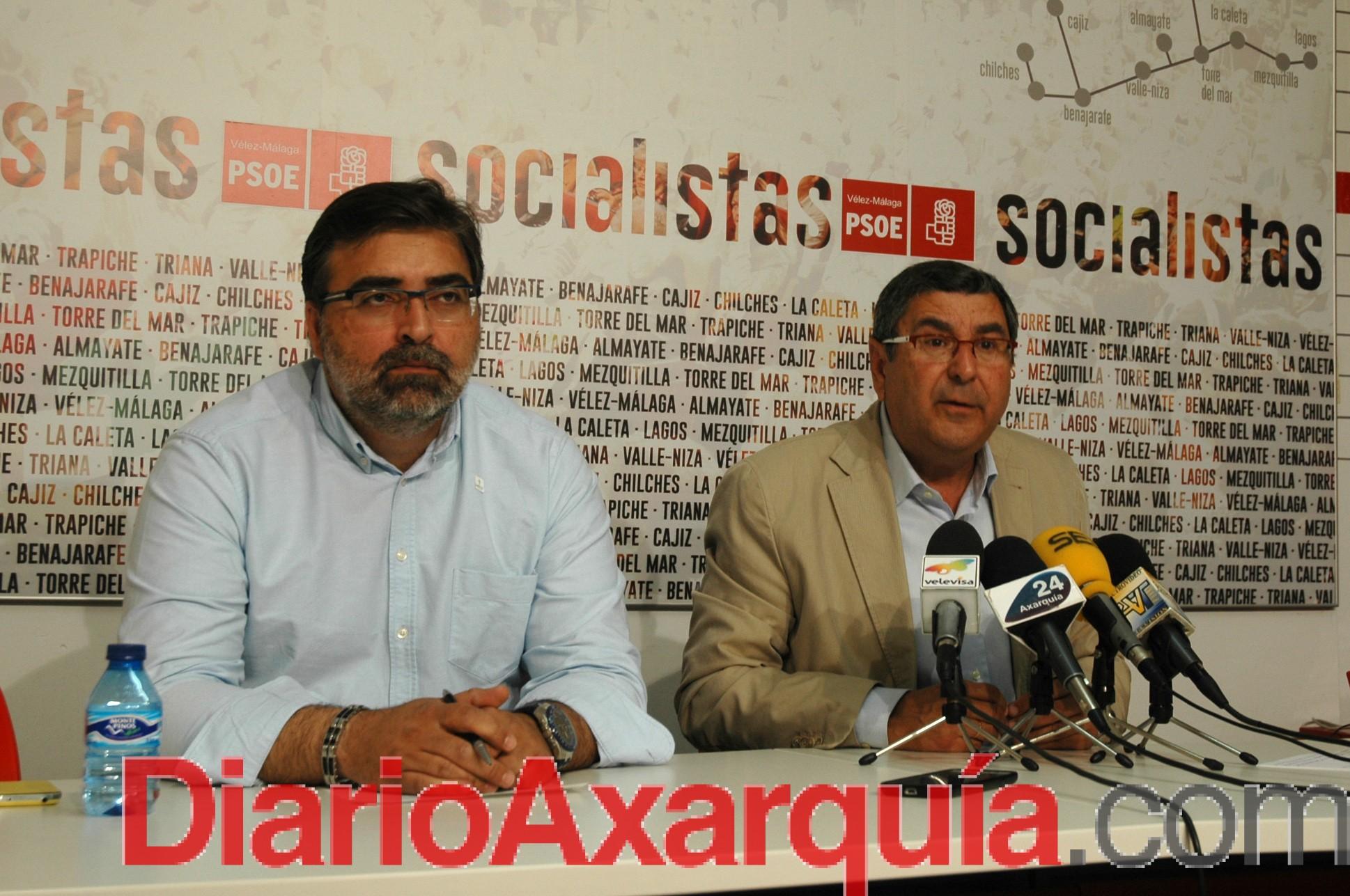El PSOE de Vélez-Málaga creará el portal de transparencia 'Somos Claros' para acercar la administración al ciudadano