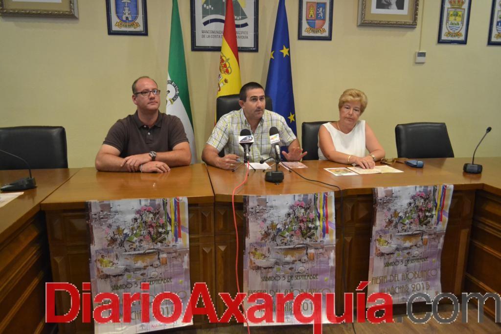 La malagueña María Barranco, galardonada en el 47 aniversario de la Fiesta del Ajoblanco