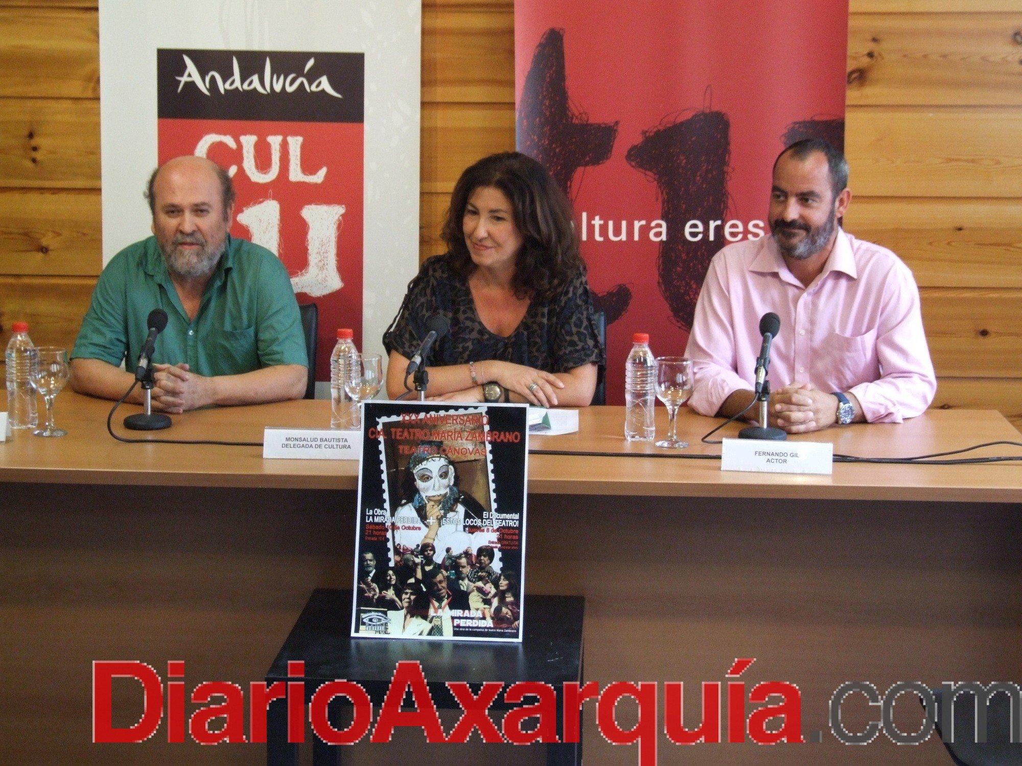 El Teatro Cánovas acoge el XXX aniversario de la fructífera compañía teatral María Zambrano