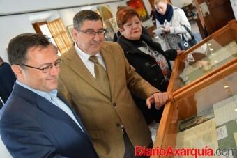 08022016 - Miguel Ángel Heredia y Antonio Moreno en visita Fundación María Zambrano_03