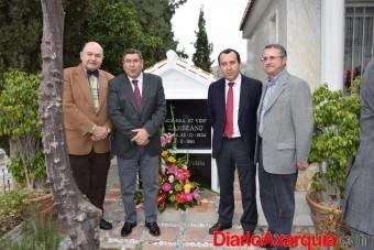 Ofrenda floral María Zambrano