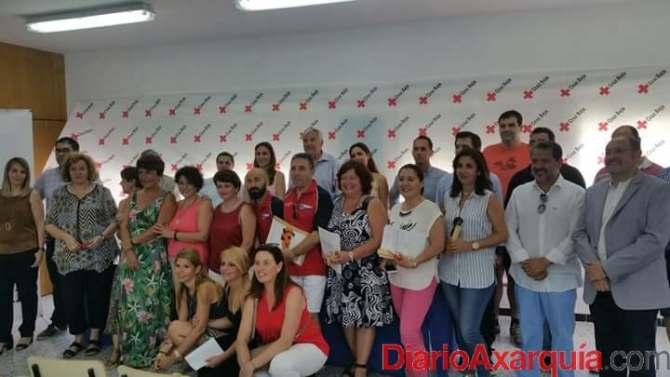 Cruz Roja entrega en Almayate las primeras titulaciones de Técnicos de Emergencias Sanitarias