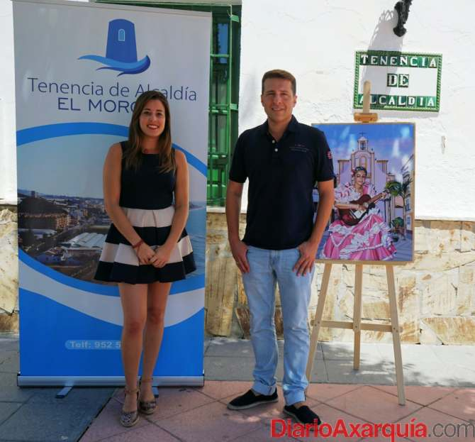 Cartel Feria El Morche - 9  agosto