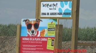 Zona Juegos Playa Canina