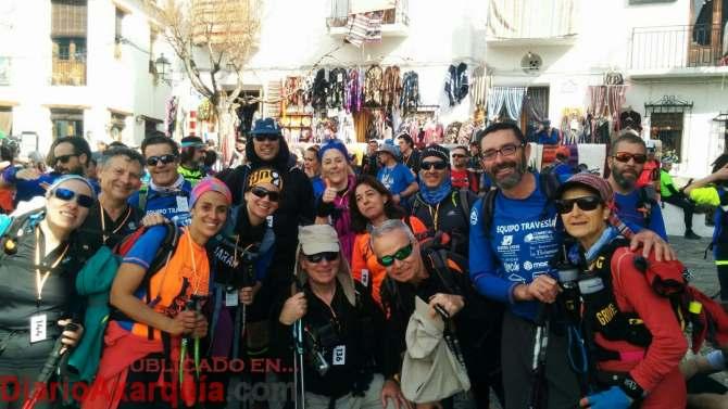 El Grupo del 17 se proclama campeón de la XIV Travesía de Resistencia Granada La Costa