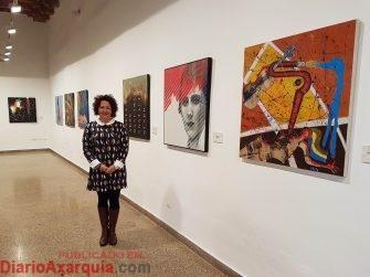 exposición Di-versos Cynthia García
