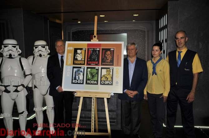 Correos-Star Wars y sello