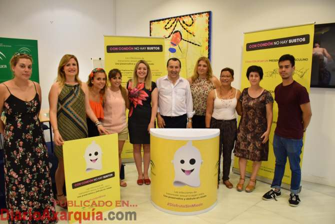 Foto campaña prevención enfermedades transmisión sexual