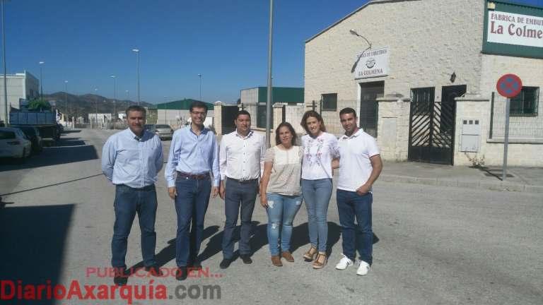 Grupo Socialista Diputación en Colmenar