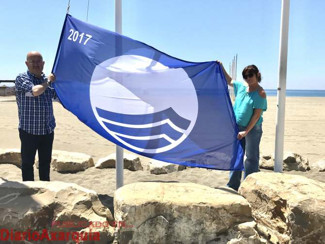 bandera azul Benajarafe 2