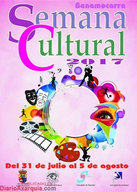 semana cultural benamocarra