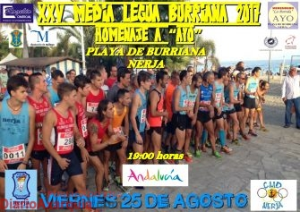 CARTEL MEDIA LEGUA BURRIANA