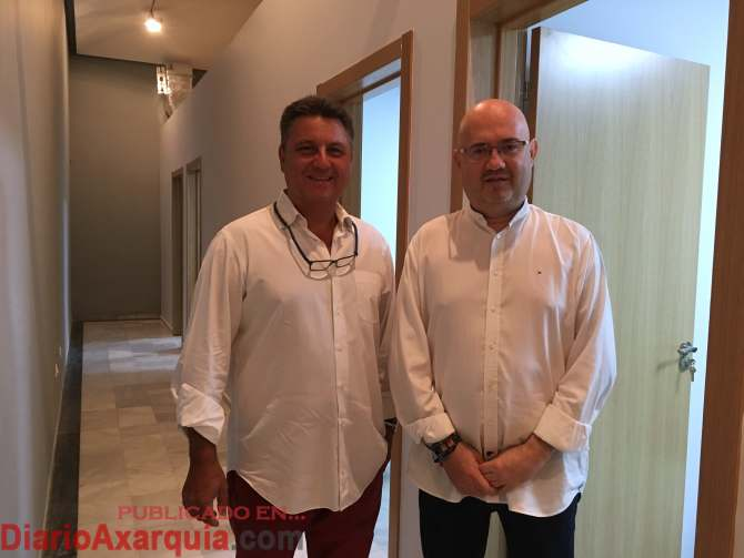 Javier García y Jesús Atencia