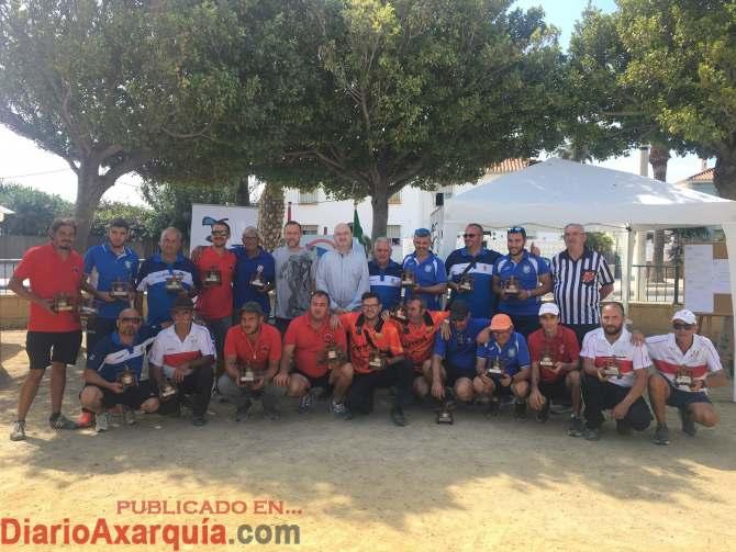 Entrega Premios XV Open Nacional de Petanca Ciudad de Torre del Mar