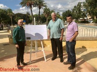 Inicio obras parque Jurado Lorca