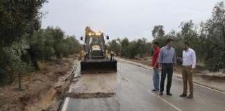 Cortes de carreteras en diversos puntos de Andalucía. Imagen: Estepa.