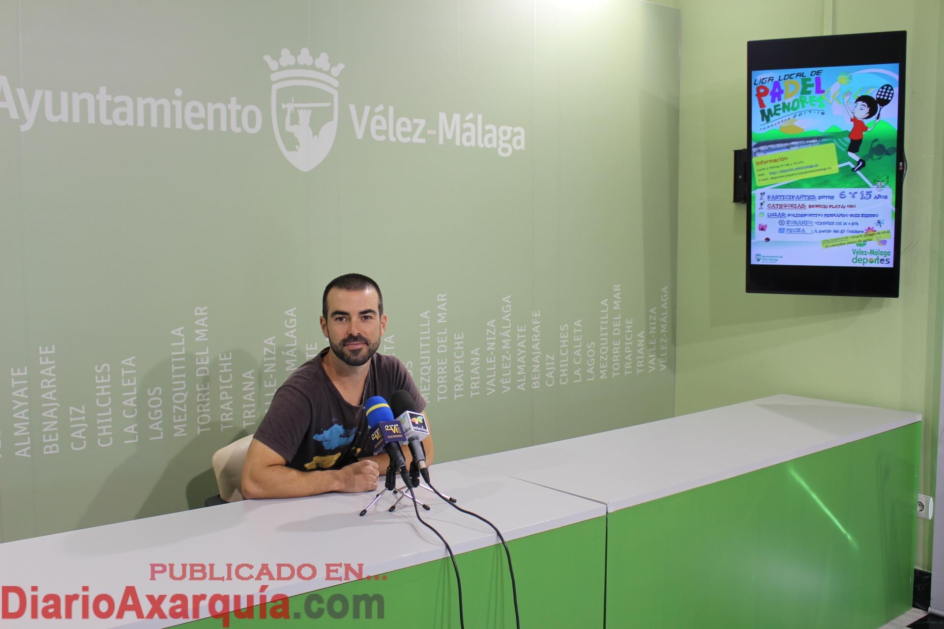 El asesor de Deportes, Antonio Pérez, ha explicado en rueda de prensa los detalles de la Liga.