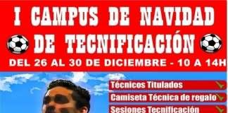 I Campus de Navidad del Fútbol Torreño en las instalaciones del Juan Manuel Azuaga.