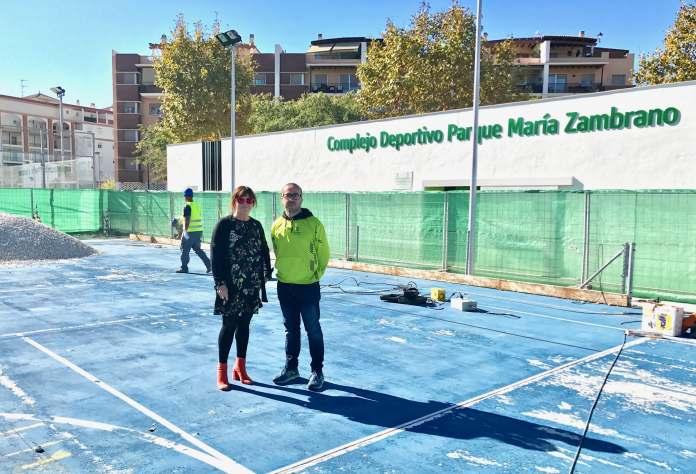 """La concejala de Deportes del Ayuntamiento veleño, María José Roberto, dice que se trata de una """"importante apuesta"""