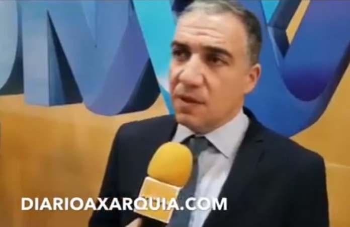 El presidente de la Diputación de Málaga, Elias Bendodo, ha atendido a DIARIO AXARQUIA en la Capilla del humorista, en la Diputación malagueña.