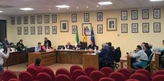 Imagen del Pleno Ordinario de la Mancomunidad de Municipios de la Axarquía celebrado esta tarde-noche de miércoles.