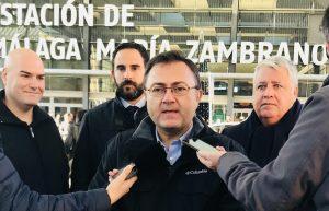 Daniel Pérez y Miguel Ángel Heredia hablan sobre el bypass ferroviario Málaga-Sevilla.