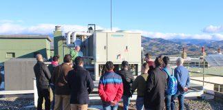 Los jóvenes han visitado el servicio de mantenimiento ya que cursan grados de sistemas e instalaciones electrotécnicas y automáticas.