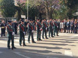 Al acto ha acudido una nutrida representación de guardia civiles de Vélez-Málaga y la comarca de la Axarquia.