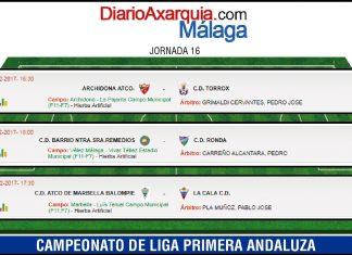 La jornada en Primera Andaluza cuenta con tres duelos complicados para los equipos de la comarca de la Axarquía.