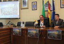El presidente de la Mancomunidad de Municipios de la Costa del Sol Axarquía, Gregorio Campos y el teniente alcalde de Comares, Manuel Robles, han presentado la fiesta de Singularidad Turística Provincial.