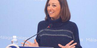La secretaria general del PP de Málaga,Patricia Navarro.