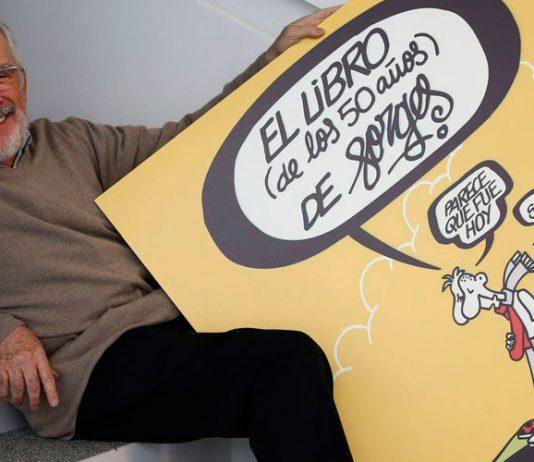 """Según el diario El Pais, donde publicó sus viñetas diarias los últimos 23 años, Forges es """"el humorista que mejor ha retratado el último medio siglo de la historia de España"""". Foto: EFE."""