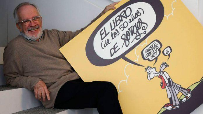 Según el diario El Pais, donde publicó sus viñetas diarias los últimos 23 años, Forges es