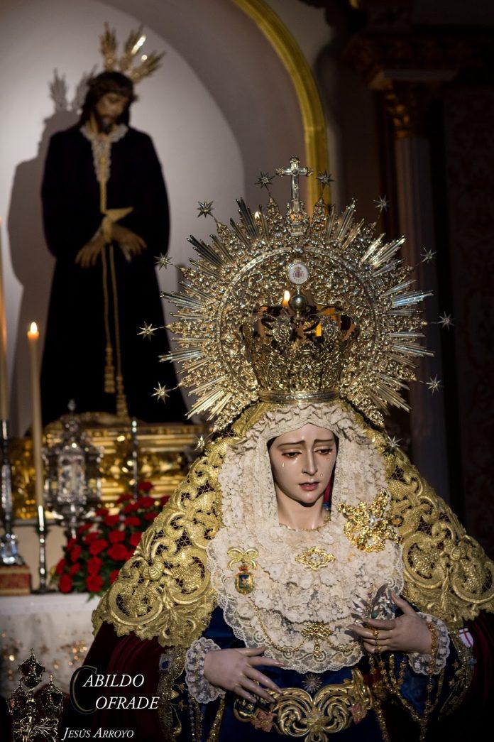 Foto. Jesús Arroyo / Cabildo Cofrade.