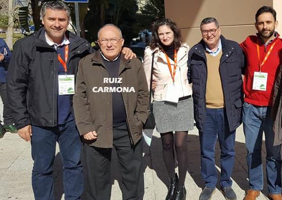 José Luis Ruiz Carmona siempre ha estado en las cosas del partido. En la foto, en un reciente congreso provincial.