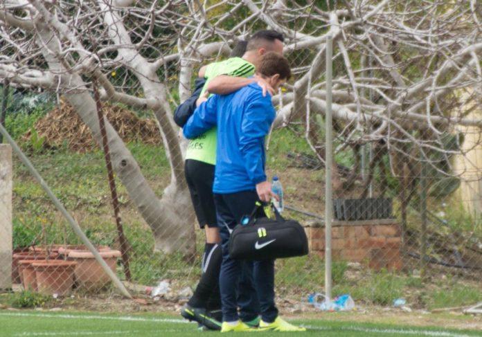 La semana será clave para recuperar al futbolista, ya que el domingo toca otro encuentro complicado con la visita del Linares al Vivar Téllez.
