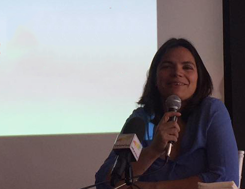 Ponencia de la doctora Odile Fernández sobre recetas anticáncer.