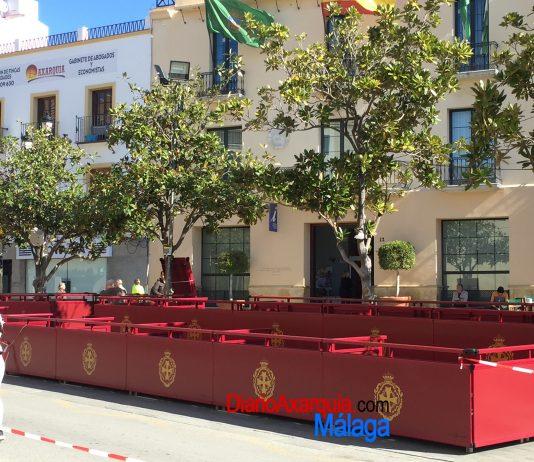Los precios de las sillas en la Tribuna Oficial de Las Carmelitas oscilan entre los 15 o 20 euros.