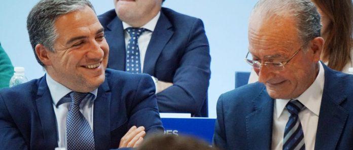 """El presidente del PP andaluz, Juanma Moreno, ha puesto en valor, en el marco de la Junta Directiva Provincial del PP de Málaga, el """"tándem compuesto por Paco de la Torre y Elías Bendodo para seguir ganando elecciones y para convertir a Málaga en punta de lanza del cambio en Andalucía"""""""