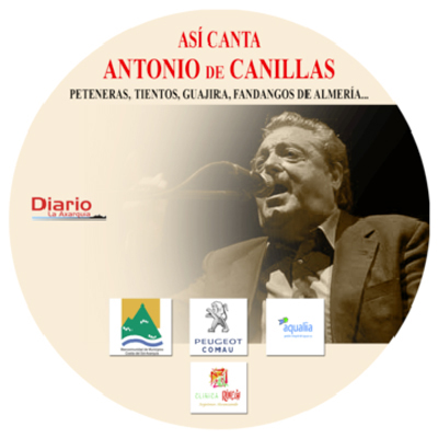 Esta fue la portada del disco homenaje a Antonio de Canillas editado por DIARIO AXARQUIA.