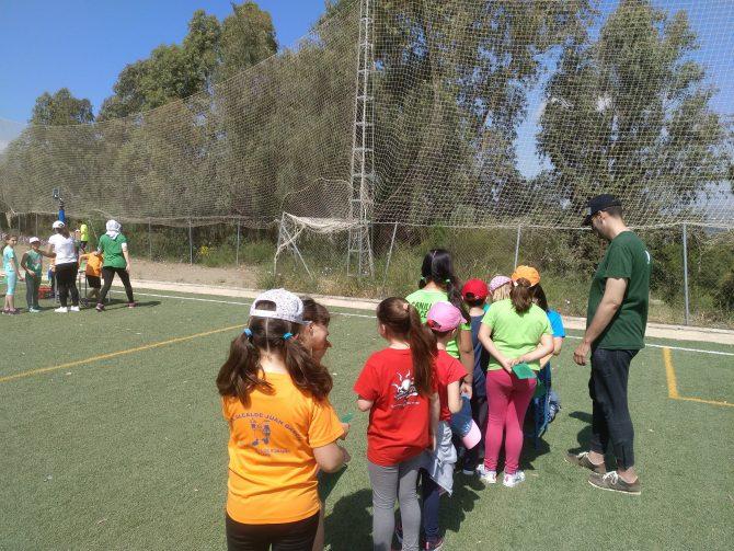 Encuentro de los centros escolares de los alrededores del valle de Rio Guaro, en plena Axarquía Interior.