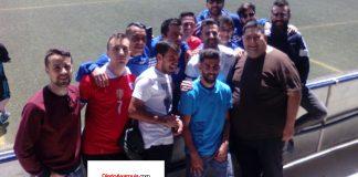 La afición agradeció a Iván y Benji su labor deportiva en el Vélez C.F.