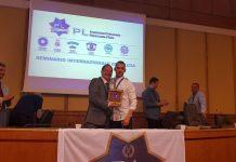 Ángel López, ha recibido una felicitación por su participación como ponente en un Seminario Internacional a nivel europeo.