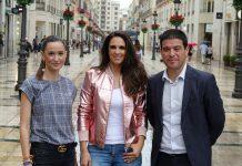 Las calles de la capital y algunos de los más bellos rincones de la provincia serán protagonistas del videoclip de la sintonía oficial que interpreta la cantante malagueña Nuria Fergó.