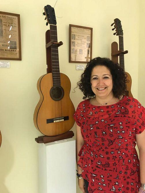 """Cynthia García Perea se ha mostrado feliz por el reconocimiento que ha compartido con el colectivo Flamenco Abierto y Peña Flamenca Niño de Vélez. """"Sin ellos no sería posible"""", ha dicho."""