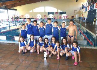 El Club Natación Axarquía se proclama subcampeón de Andalucía en el II Festival jóvenes nadadores y prebenjamin - zona oriental.
