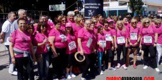 Deporte y solidaridad se dan la mano a favor de la Asociación de Mujeres con Cáncer de Mama de La Axarquía 'Esperanza'.