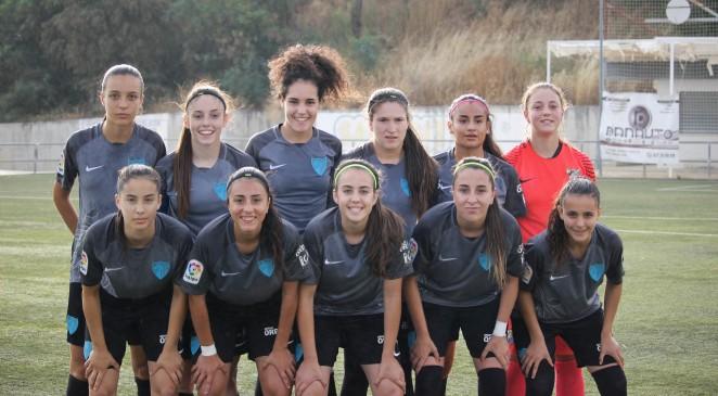 El conjunto malaguista cerró un año histórico para las filas femeninas del Málaga CF y venció al Cádiz CF Femenino por 0-2 con goles de Luisa y Carmen.